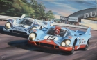 Le Mans 1971, Porsche 917 - oil on canvas
