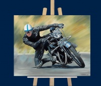 Vincent Rider reproduction sur toile face