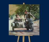 Indiana Jones repro toile face