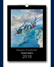 Couverture calendrier Aviation 2018