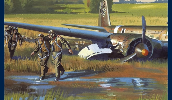 Curtiss H75 Marin la Meslee poster detail 2