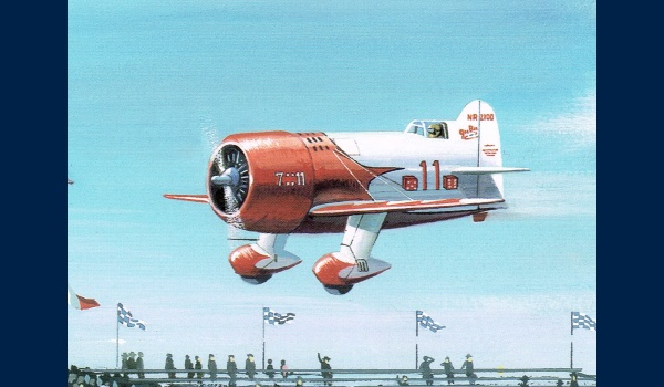 Gee Bee detail