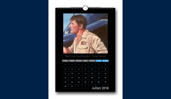 calendrier Aviation 2018 juillet