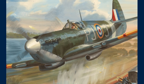 Spitfire jacques Andrieux detail 1
