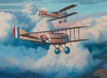 Recon Mission, Spad VII - SPA 48 - oil on canvas