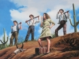 OK, guys, let's go and no quarter ! - huile sur toile
