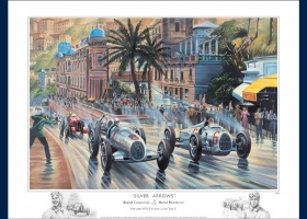 reproduction Silver Arrows