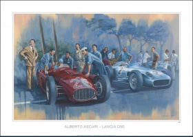 reproduction ascari Lancia D50