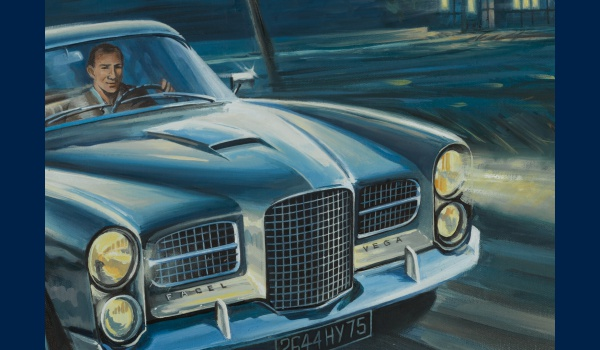 Facel Vega HK 500, Stirling Moss detail 1