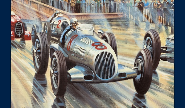 reproduction Silver Arrows detail 1