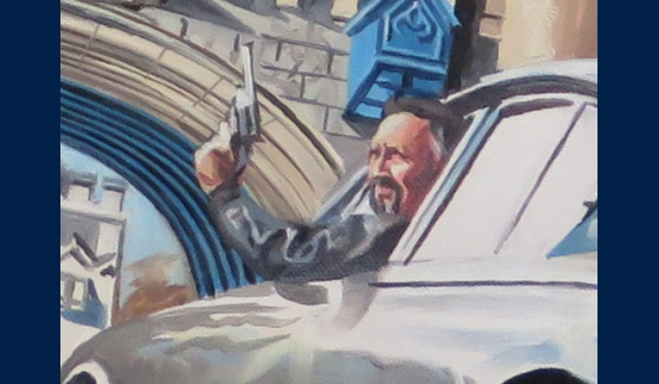 Tower Bridge chase, poster detail 1