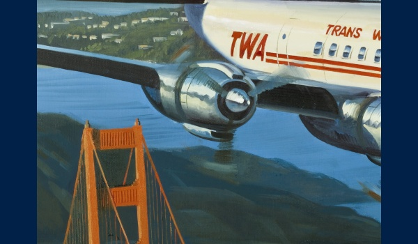 Lockheed Constellation TWA detail 2