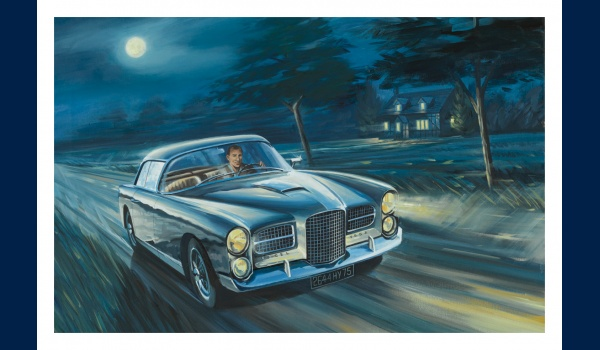 Facel Vega HK 500, Stirling Moss