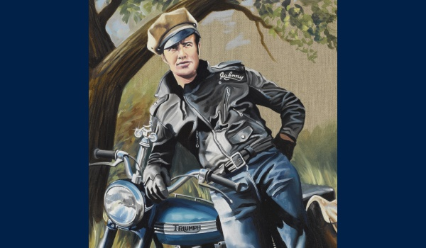 Marlon Brando the wild detail 1
