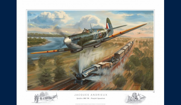 poster Spitfire Jacques Andrieux