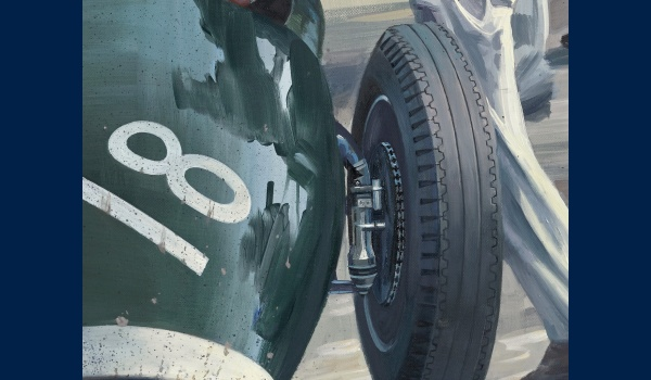 Stirling Moss Monza 1957 detail 2